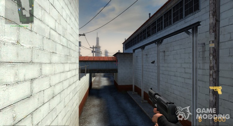 Better Fiveseven Reskin for Counter-Strike Source