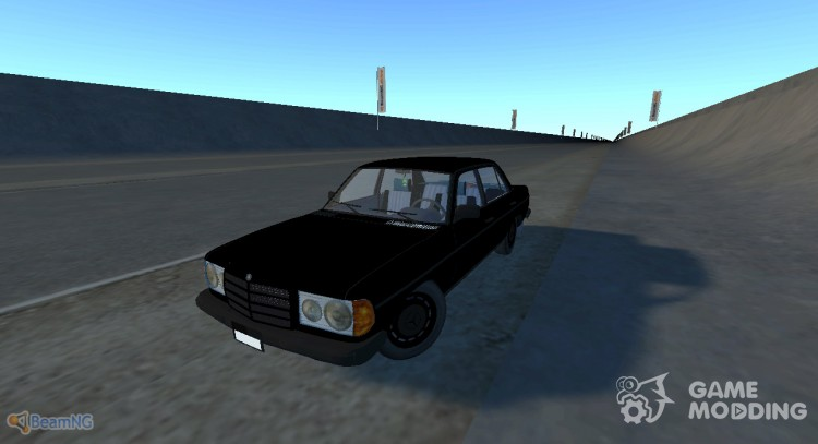 Mercedes-Benz W123 for BeamNG.Drive