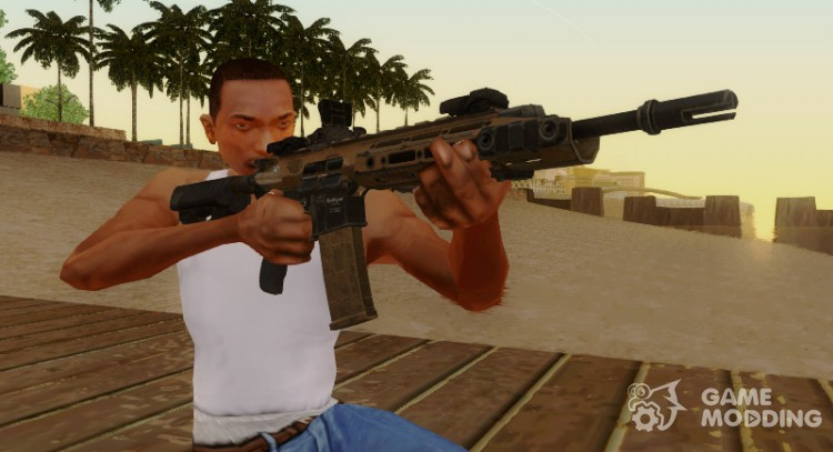 Remington R-5 Assault Rifle for GTA San Andreas