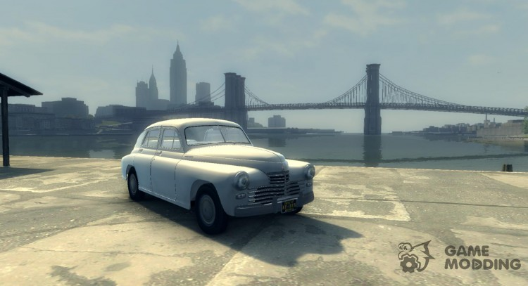 GAZ m-20 Pobeda, 1946 for Mafia II