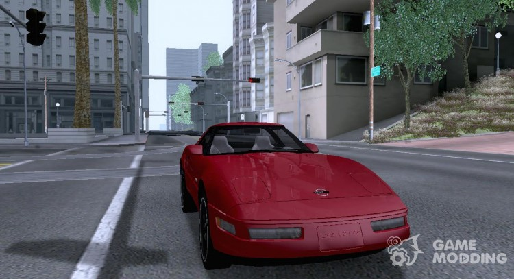 Chevrolet Corvette C4 Grand Sport 1996 For Gta San Andreas