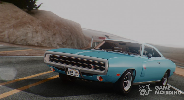 1970 Dodge Charger R/T 440 (XS29) для GTA San Andreas
