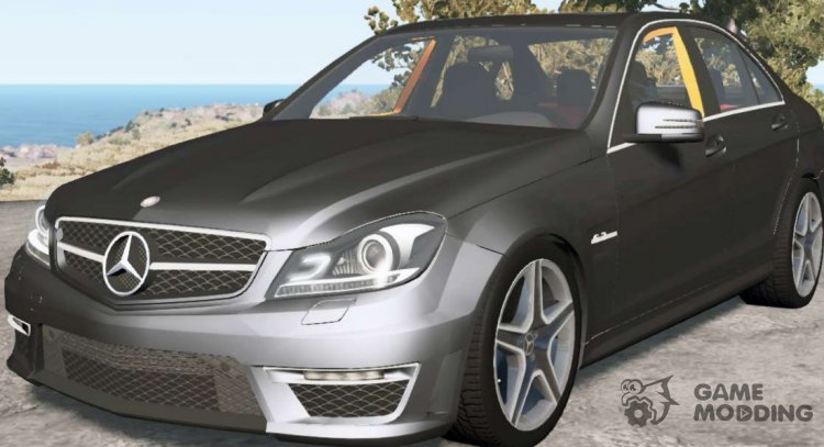 Mercedes-Benz C 63 AMG (W204) 2011 para BeamNG.Drive