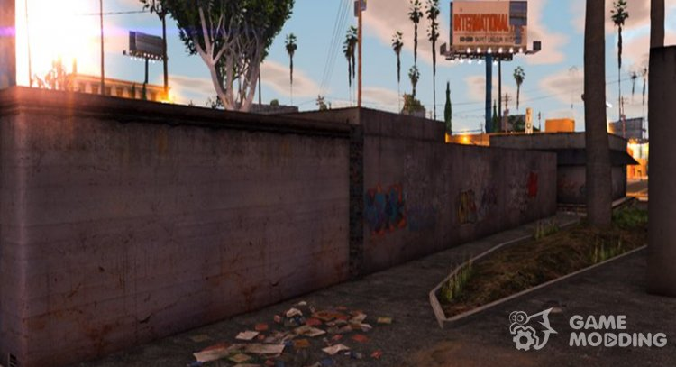 East LS Alley - Retextured for GTA San Andreas