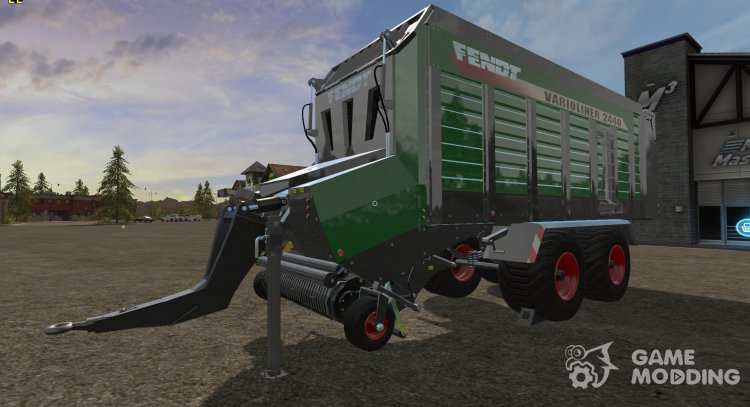 Trailer pick-up Varioliner 2440 for Farming Simulator 2017
