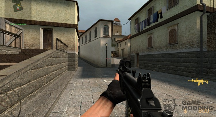 Tactical Galil for Counter-Strike Source