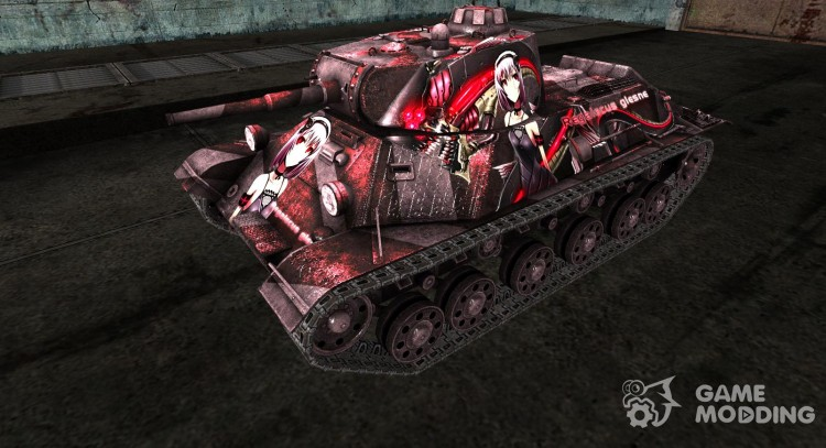 Skin for t-50 for World Of Tanks