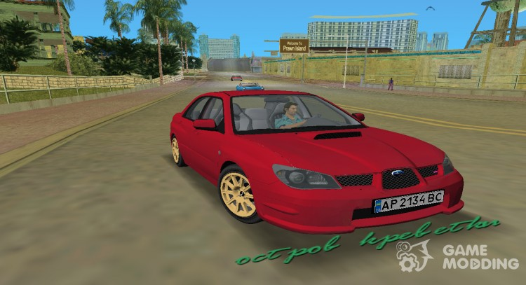Subaru Impreza WRX STI 2006 для GTA Vice City