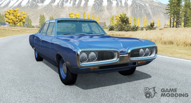 Dodge Coronet sedan (WP41) 1970 v2.2 for BeamNG.Drive