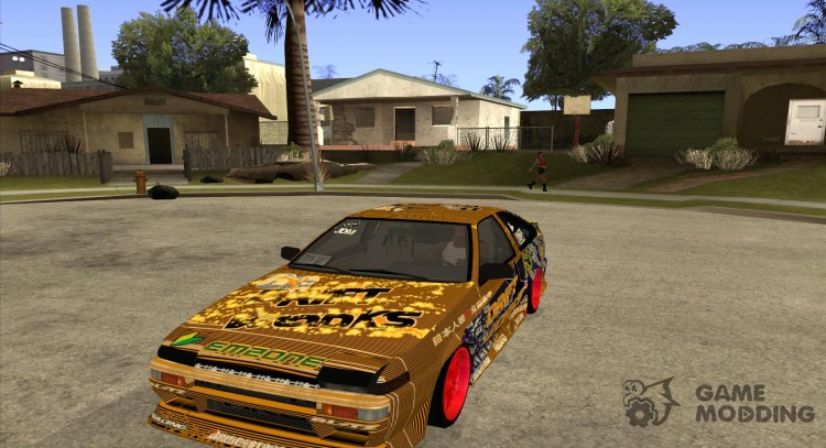 Toyota Corolla AE86 DS for GTA San Andreas