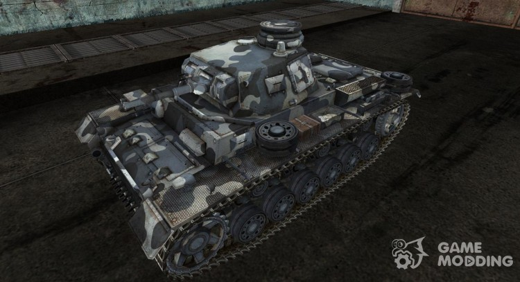 Skin for the Panzer III for World Of Tanks