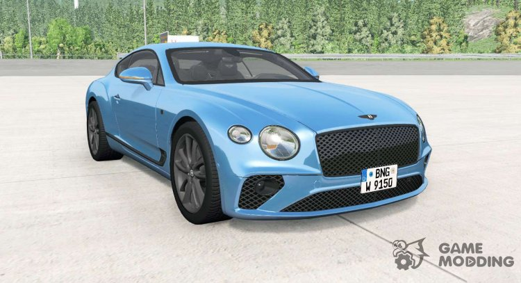 Bentley Continental GT for BeamNG.Drive