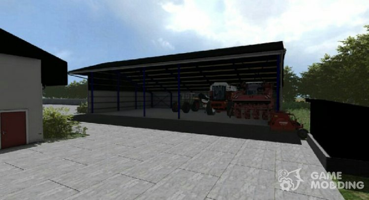 Placeable shelter 1.0 for Farming Simulator 2013