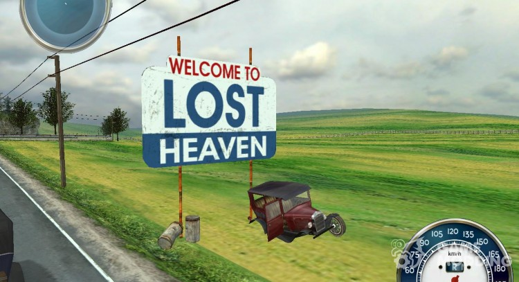 Welcome to Lost Heaven pointer for Mafia: The City of Lost Heaven