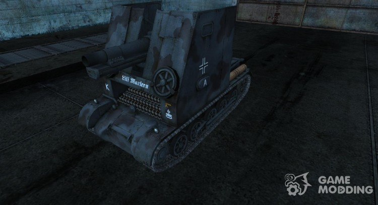 Sturmpanzer I Bison from Steiner for World Of Tanks