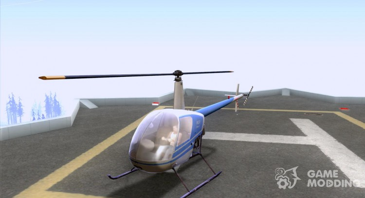 The Robinson R22 for GTA San Andreas