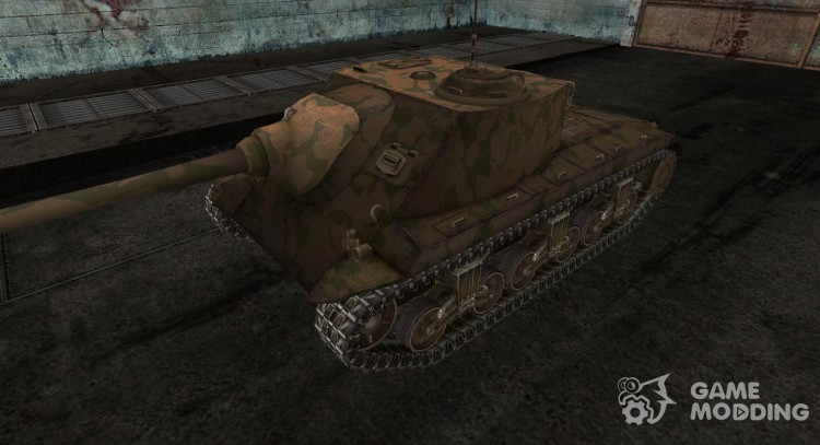 Skin for T25 AT No. 7 for World Of Tanks