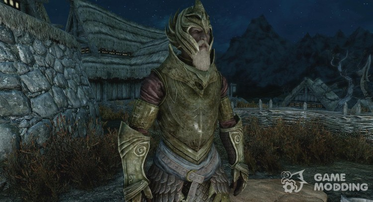 Craftable Elven Light Armor for TES V: Skyrim