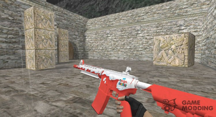 M4A4 Guntime Kinder for Counter Strike 1.6