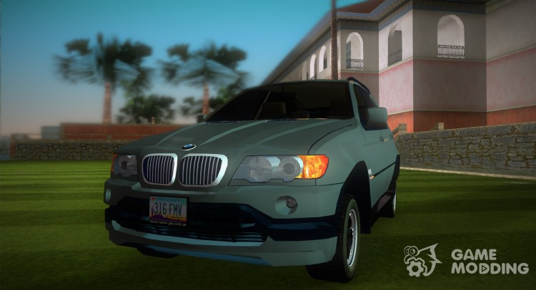 BMW X 5 for GTA Vice City