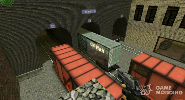 HD Train Look Remake for Counter Strike 1.6