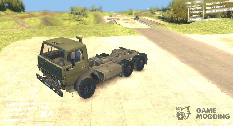 KAMAZ 5410 for Spintires DEMO 2013