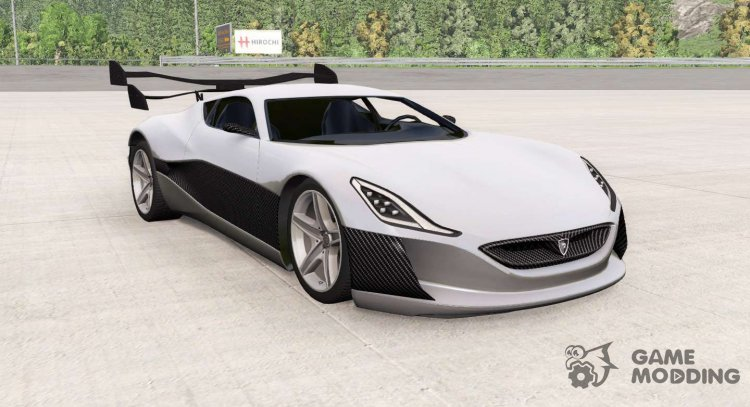Rimac Concept One for BeamNG.Drive