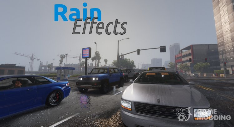 Rain Enhancement Effects 1.5 for GTA 5