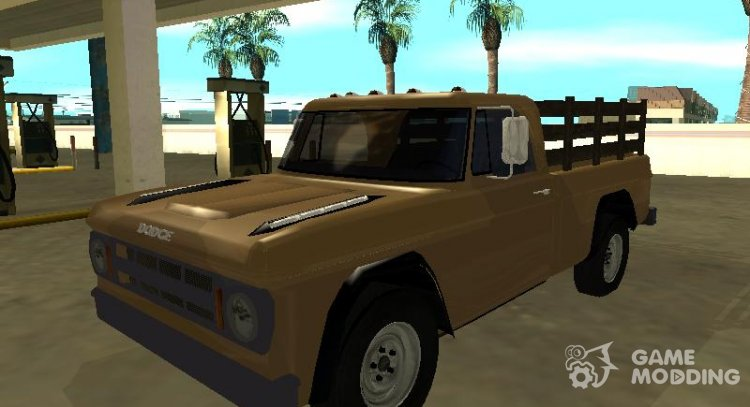 Dodge D100 1968 for GTA San Andreas