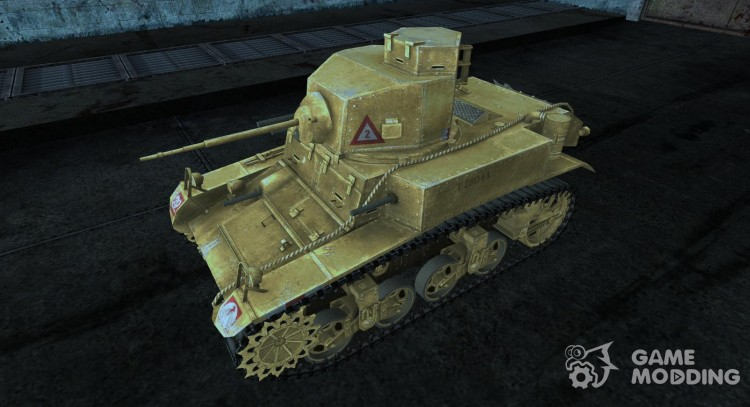 Skin for M3 Stuart for World Of Tanks
