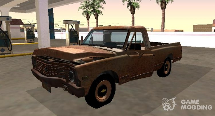 Chevrolet C-10 1972 Shit for GTA San Andreas