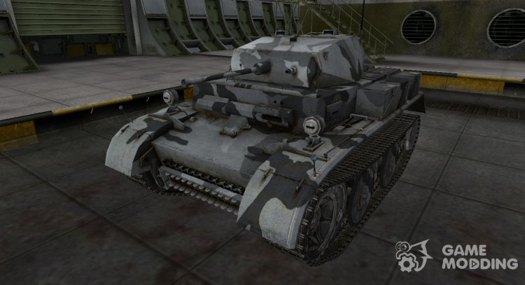 The skin for the German Panzer II Luchs for World Of Tanks