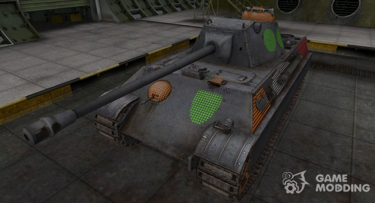 Area penetration Panther II for World Of Tanks