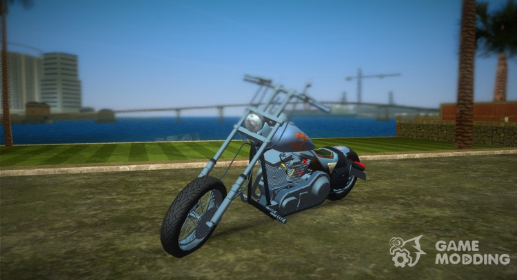 Harley-Davidson Black Death for GTA Vice City