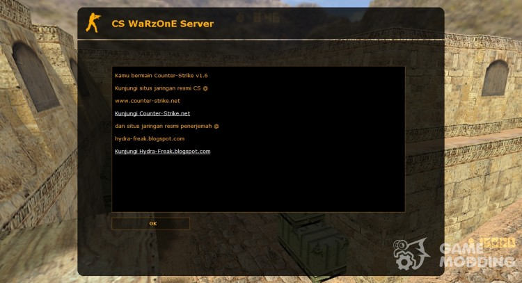 Indonesian Language for Counter Strike 1.6