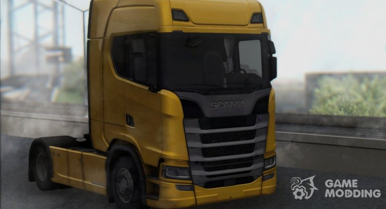 Scania S580 V8 NextGen for GTA San Andreas