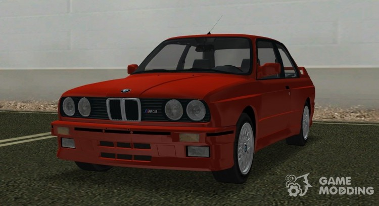 BMW M3 (E30) 1987 for GTA Vice City