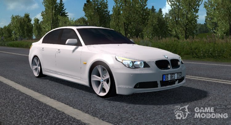 BMW E60 for Euro Truck Simulator 2