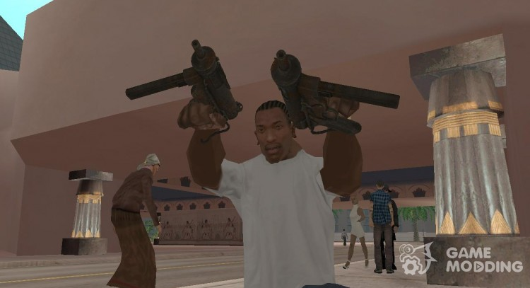 Fallout New Vegas 9mm SMG for GTA San Andreas