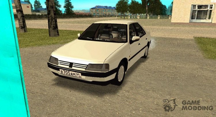 Peugeot 405 GLX for GTA San Andreas