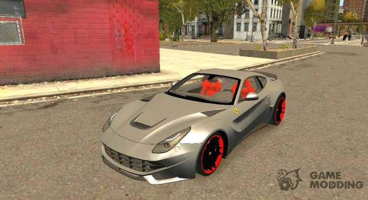 Ferrari F12 Berlinetta Novitec Rosso N Largo For Gta 4