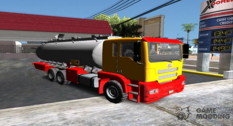 GTA V MTL Dune Oil Tanker for GTA San Andreas
