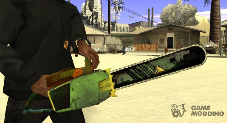 Chainsaw HD for GTA San Andreas