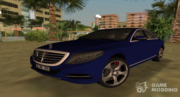 2015 Mercedes Benz S350 Bluetec for GTA Vice City