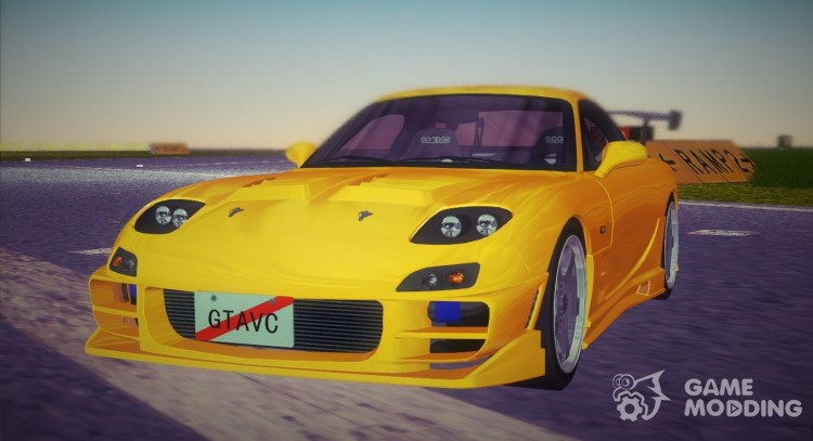 Mazda RX-7 FD3S Tuning for GTA Vice City