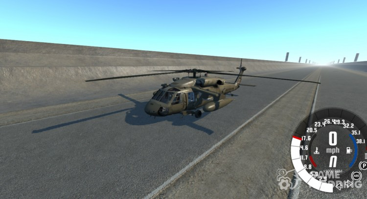 Sikorsky UH-60 Black Hawk for BeamNG.Drive