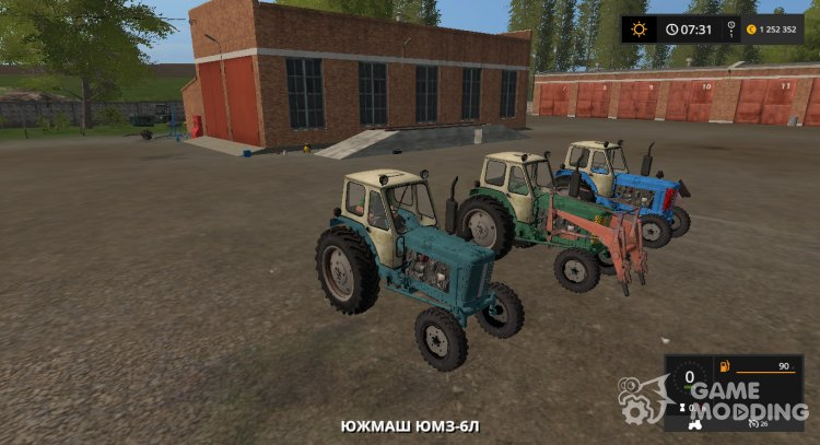YUMZ-6L version 1.0.0.2 from 06.09.19 for Farming Simulator 2017