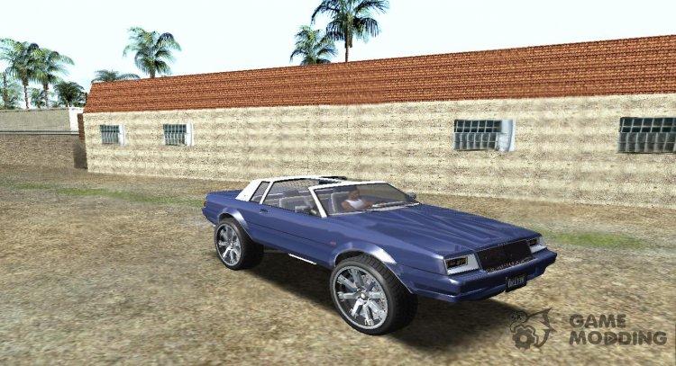 GTA 5 Willard Faction v Custom Donk 2 for GTA San Andreas