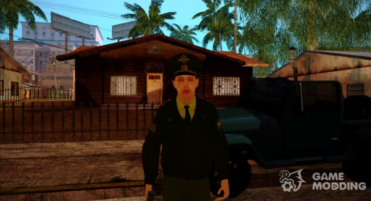 Ensign Sokolov for GTA San Andreas