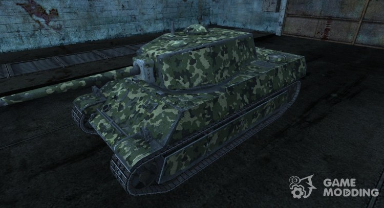 Skin for AMX M4 1945 for World Of Tanks